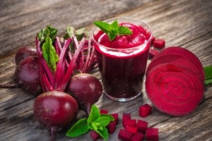 Rote Beete entsaften: Rote Bete-Saft