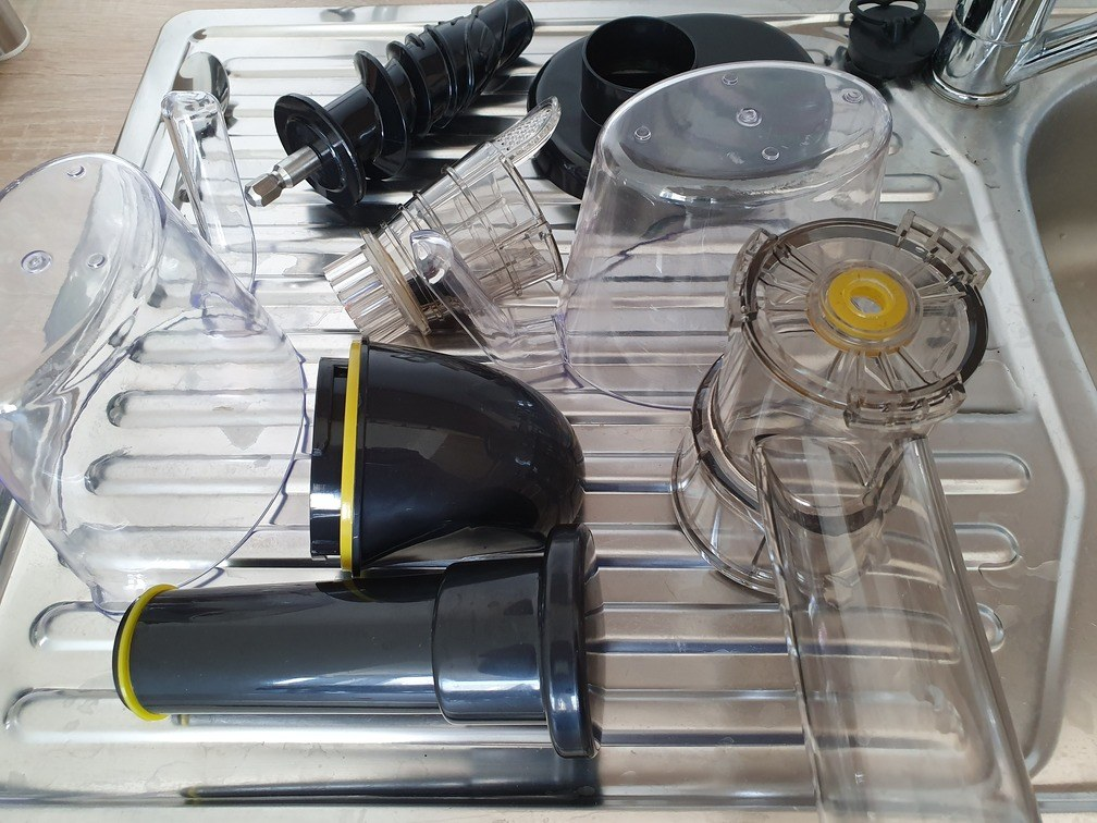 Reinigung Nutrilovers Slow Juicer
